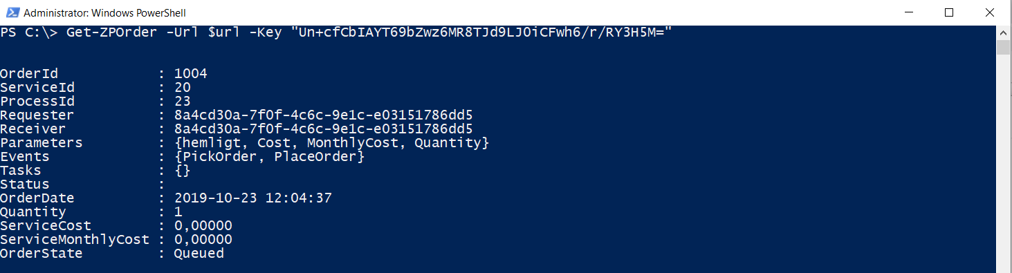 Powershell API authentication powershell